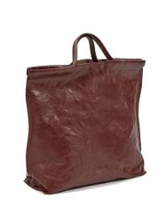 Shopper | Leder | Rood