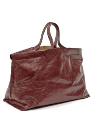Shopper XL | Leather | Red