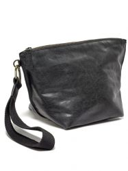 Clutch Bag | Leather | Black