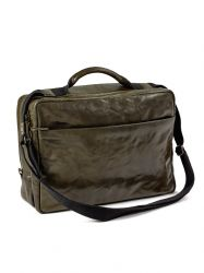 Briefcase | Leather | Green