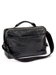 Briefcase Small | Leather | Black