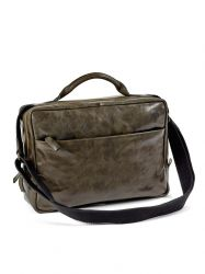 Briefcase Small | Leather | Green
