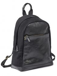 Backpack | Leather | Black