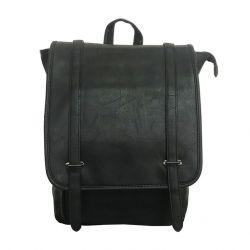 Rucksack mit eingebautem USB-Ladegerät | Schwarz