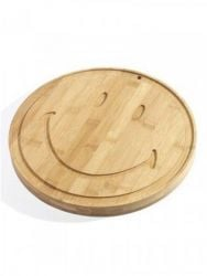 Plate Large Smiley | Bamboo