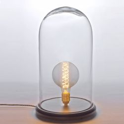 Table Lamp Glass Dome 48 cm | Extra Large