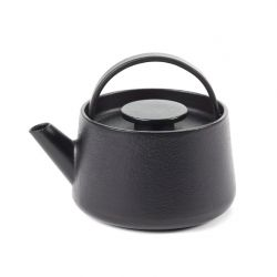 Teapot Cast Iron Inku S | Black