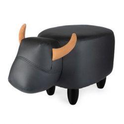 Tabouret La Vache | Noir