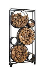 Firewood Holder L | Black