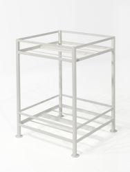 Pflanzen-Stand S 65x65x90 cm | Weiß