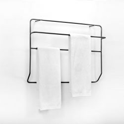 Wall Towel Rack Juno | Black