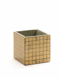 Pflanztopf Marie Mosaic 13 cm | Gold