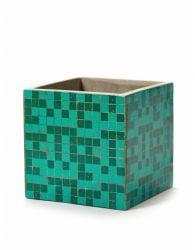 Plant Pot Marie Mosaic 17 cm | Green