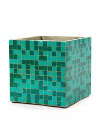 Plant Pot Marie Mosaic 22 cm | Green