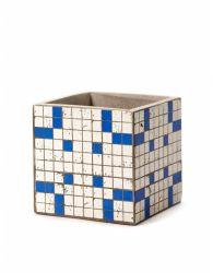Pflanztopf Marie Mosaic 15 cm | Blau