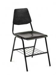 Chaise Studio Simple 80 cm | Noir