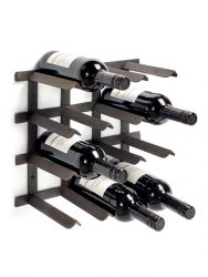 Wine Rack | Steel | Black