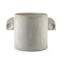 Plant Pot Concrete Round | Large
