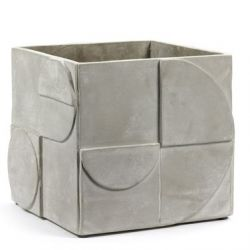 Plant Pot Concrete Seventies | Large