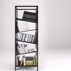 Bücherregal My Library | Schwarz