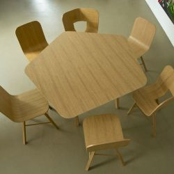 Table Tria | Pentagonal