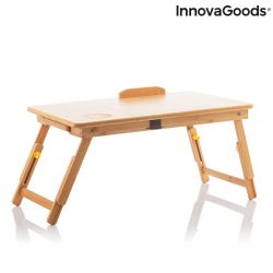 Folding  Auxilary Table | Brown