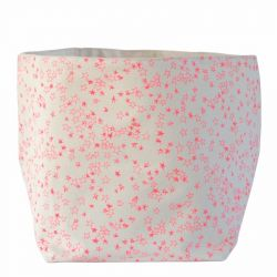 Storage Bag Pink Stars | Large