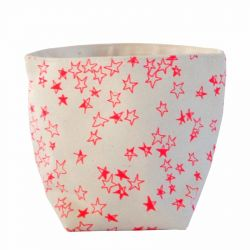 Storage Bag Pink Stars | Small