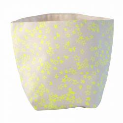 Storage Bag Yellow Stars | Medium