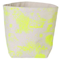 Storage Bag Yellow Toile de Jouy | Large
