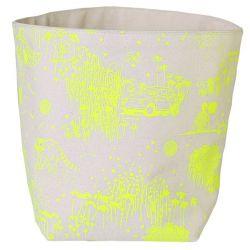Storage Bag Yellow Toile de Jouy | Large