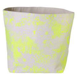 Storage Bag Yellow Toile de Jouy | Medium