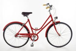 Bike Bacio 3 Speed Donna | Red