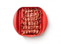 Microwave Bacon Cooker | Red
