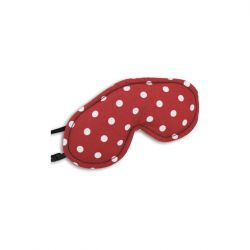 Eye Mask Peanut | Polkadot Red
