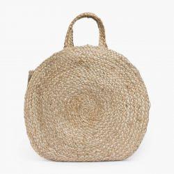 Runde Handtasche Ural Dia. 40 | Natural