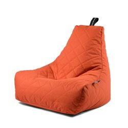 Fauteuil-Sac Outdoor Mighty B Matelassé | Orange