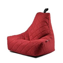 Fauteuil-Sac Outdoor Mighty B Matelassé | Rouge