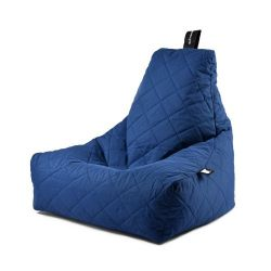 Fauteuil-Sac Outdoor Mighty B Matelassé | Bleu Royal