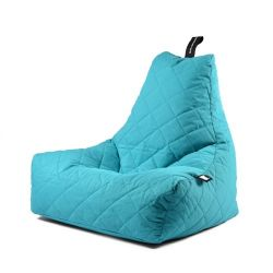 Fauteuil-Sac Outdoor Mighty B Matelassé | Turquoise