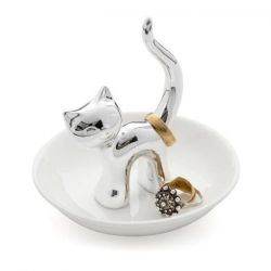 Ring & Jewellery Tray Gatto | Silver
