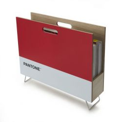 Magazine Rack Pantone | Red