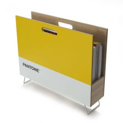 Magazine Rack Pantone | Yellow