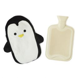 Hot Water Bottle Pingu | White/Black