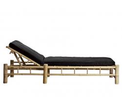 Bambus Sonnenbett mit Matratze | Phantom
