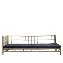 Bamboo Lounge Bed with Mattress Right | Phantom