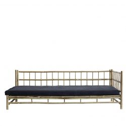 Bamboo Lounge Bed with Mattress Left | Phantom