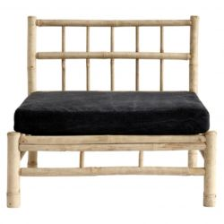 Bamboo Lounge Module with Cushion | Phantom