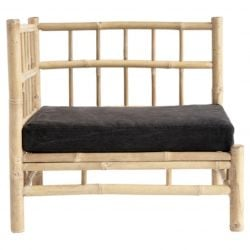 Bamboo Lounge Corner Module with Cushion | Phantom