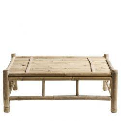 Bambus Lounge Tisch | 70 x 70
